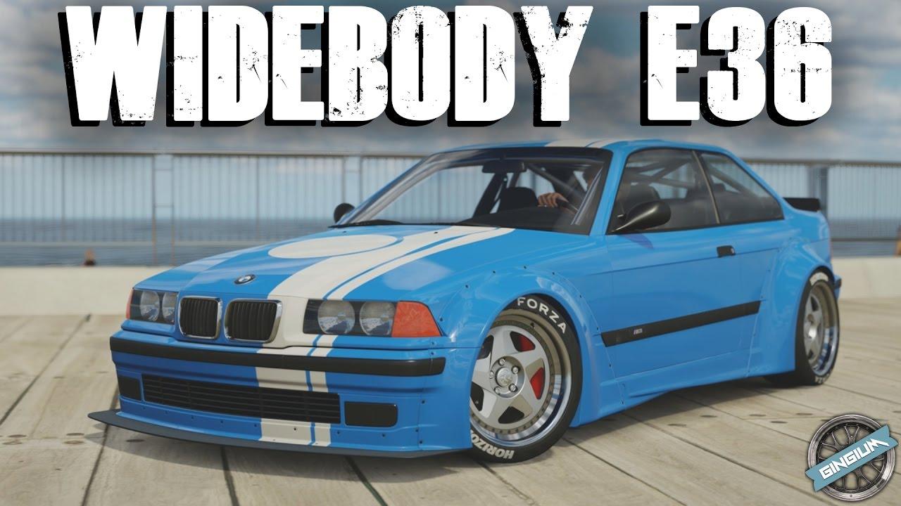 Widebody E36 1997 Bmw E36 M3 Drift Stance Build