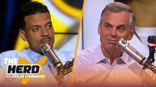 Matt Barnes offers advice to Zion in the NBA & says refs should ease up on KD | NBA | THE HERD