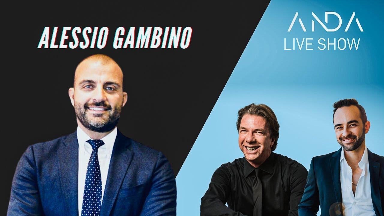 ANDA Live Show con ospite Alessio Gambino