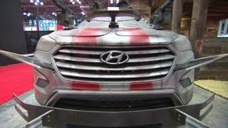 Hyundai Santa Fe Zombie Survival Machine 2014 Videos