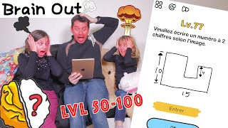 Brain Solutions 50-100 FR • Walkthrough All Levels Part 2 - Studio Bubble Tea