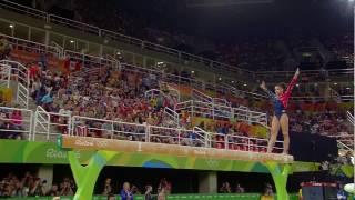 Lauren Hernandez 2016 Olympics QF BB