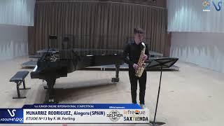 Aingeru Munarriz Rodriguez – Etude Ferling 13