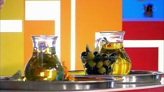 Жить здорово! Подсолнечное масло против оливкового. (18.03.2016)(Вареная рассыпчатая картошка, посыпанная свежим укропом и политая подсолнечным маслом; греческий салат..., 2016-03-18T12:26:31.000Z)