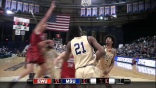 EWU MBB Highlights at Montana State