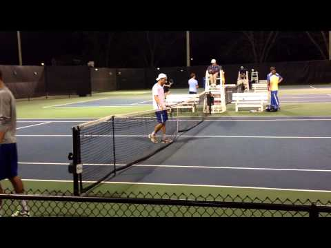 William O'Connell Gives PC 4-2 Quarterfinal Win Over Gardner-Webb