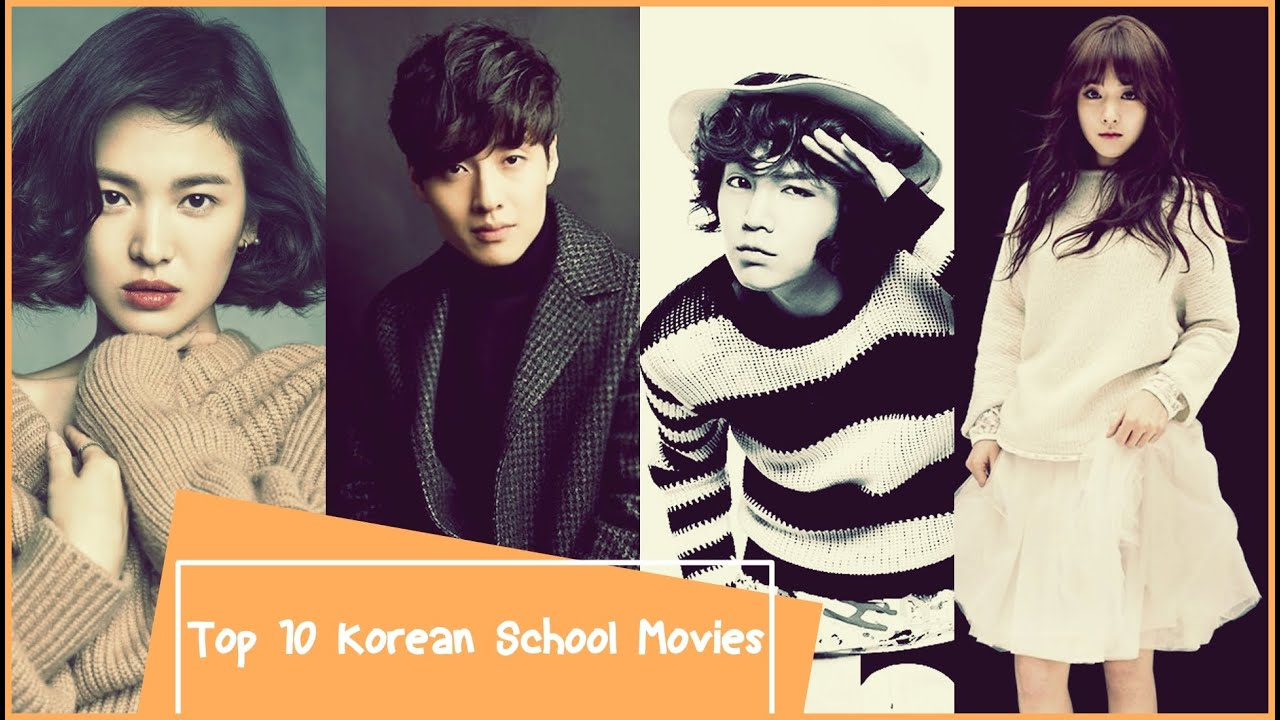 Top 10 Korean School Movies - YouTube
