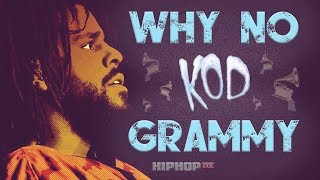 """This Is Why J.Cole's """"KOD"""" Didn't Get Nominated For A Grammy For Album Of The Year"""