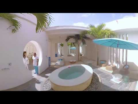So Spa a wonderfully relaxing and tranquil environment. (Video - 360° - Hotel - Mauritius)