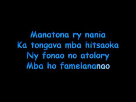 Ny nanahary -Hobio (karaoké)