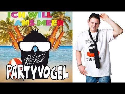 Ich will ans Meer - Patrick Partyvogel - Party Hits 2017