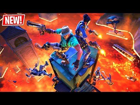 *NEW* FLOOR IS LAVA LTM GAMEPLAY!! (Fortnite Battle Royale)