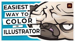 Adobe yeni Başlayanlar için Renk Ekleme Öğretici Illustrator CC: