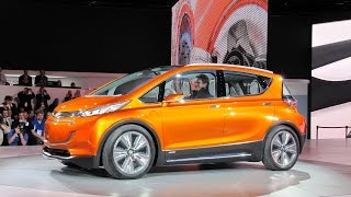 2016 Chevrolet Volt and Chevrolet Bolt Reveal