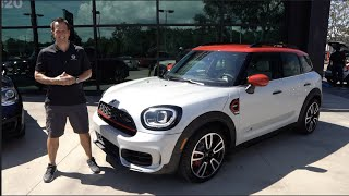 What are the MAJOR changes to the 2021 Mini CooperJCW Countryman ALL4?