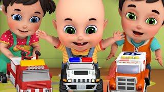 Poem for kids   Car , cars   ABCD   Nursery rhymes & kids songs - Jugnu Kids