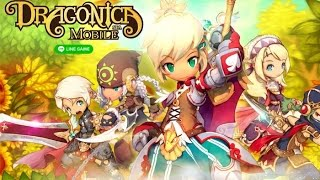 LINE Dragonica Mobile (Gameplay iOS / Android)