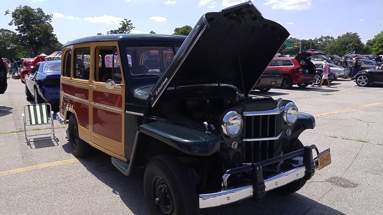 1959 Willys Jeep Woody Wagon Youtube 1941 Station
