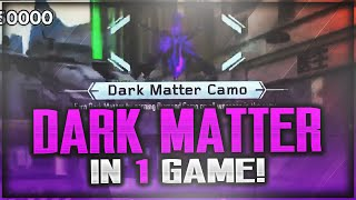 "29 DIAMOND GUNS IN ONE GAME! Unlocking ""DARK MATTER CAMO"" In 1 MATCH! (Black Ops 3 DARK MATTER)"