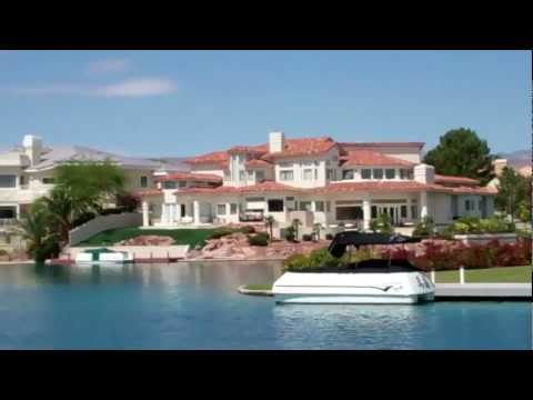 "Las Vegas Real Estate:  ""The Lakes"" Waterfront Homes"