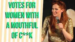 Diane Spencer: Vote for women with a mouthful of c..k