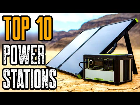 Top 10 Best Solar Generators 2020 | Best Power Station 2020