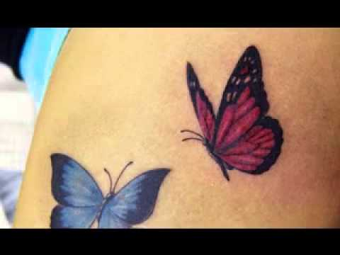 Cute Butterfly Tattoo Ideas
