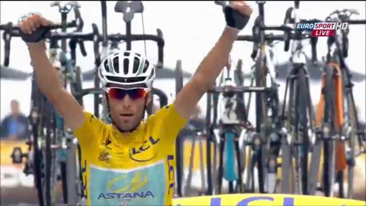 Tour de France 2014 Hautacam Nibali ATTACK HD