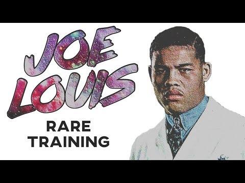 Joe Louis RARE Training In Prime