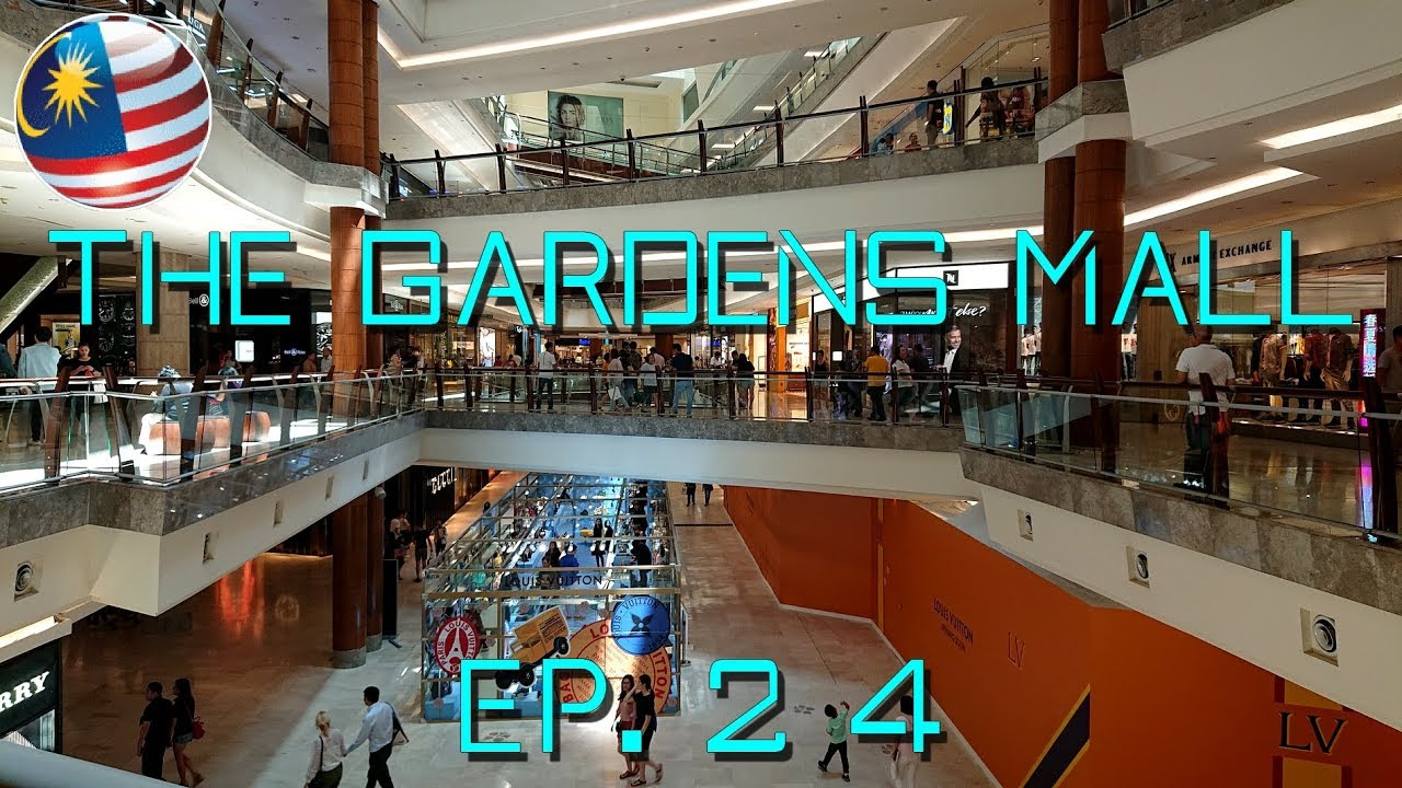 Luxury shopping mall in Kuala Lumpur : The Gardens Mall @ Mid Valley City
