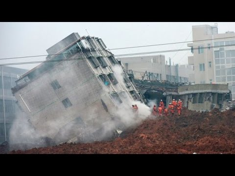 China landslide Shenzhen official jumps to death, say police