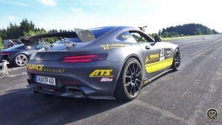 Mercedes AMG GT S GT4 W/ PER4MANCE EXHAUST VS Audi R8