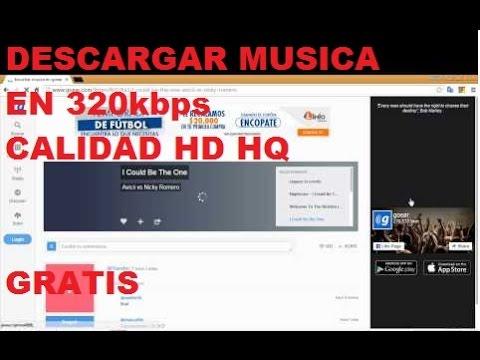 Como Descargar Musica En calidad 320 Kbps | 2016
