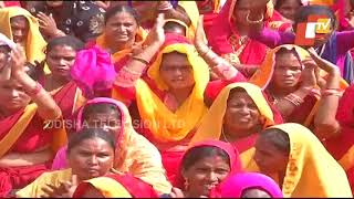 Anganwadi Workers Stage Demo Outside Odisha Assembly