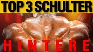 Top 3 Übungen - hintere Schulter