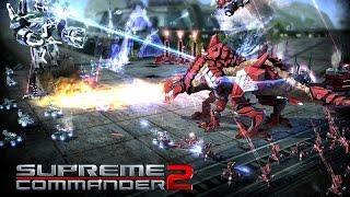 Supreme Commander 2 Мультиплеер 3 Странные враги