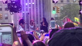 Little Mix The End A Capella Live TODAY