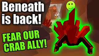 BENEATH RETURNS! FEAR OUR CRAB ALLY! -- PAINT THE TOWN RED Gameplay (1080p 60fps)