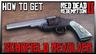 RDR2 How To Get The Schofield Revolver - Red Dead Redemption 2 Weapons