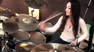 BREAKING BENJAMIN - SO COLD - DRUM COVER BY MEYTAL COHEN