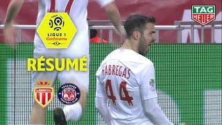 AS Monaco - Toulouse FC ( 2-1 ) - Résumé - (ASM - TFC) / 2018-19