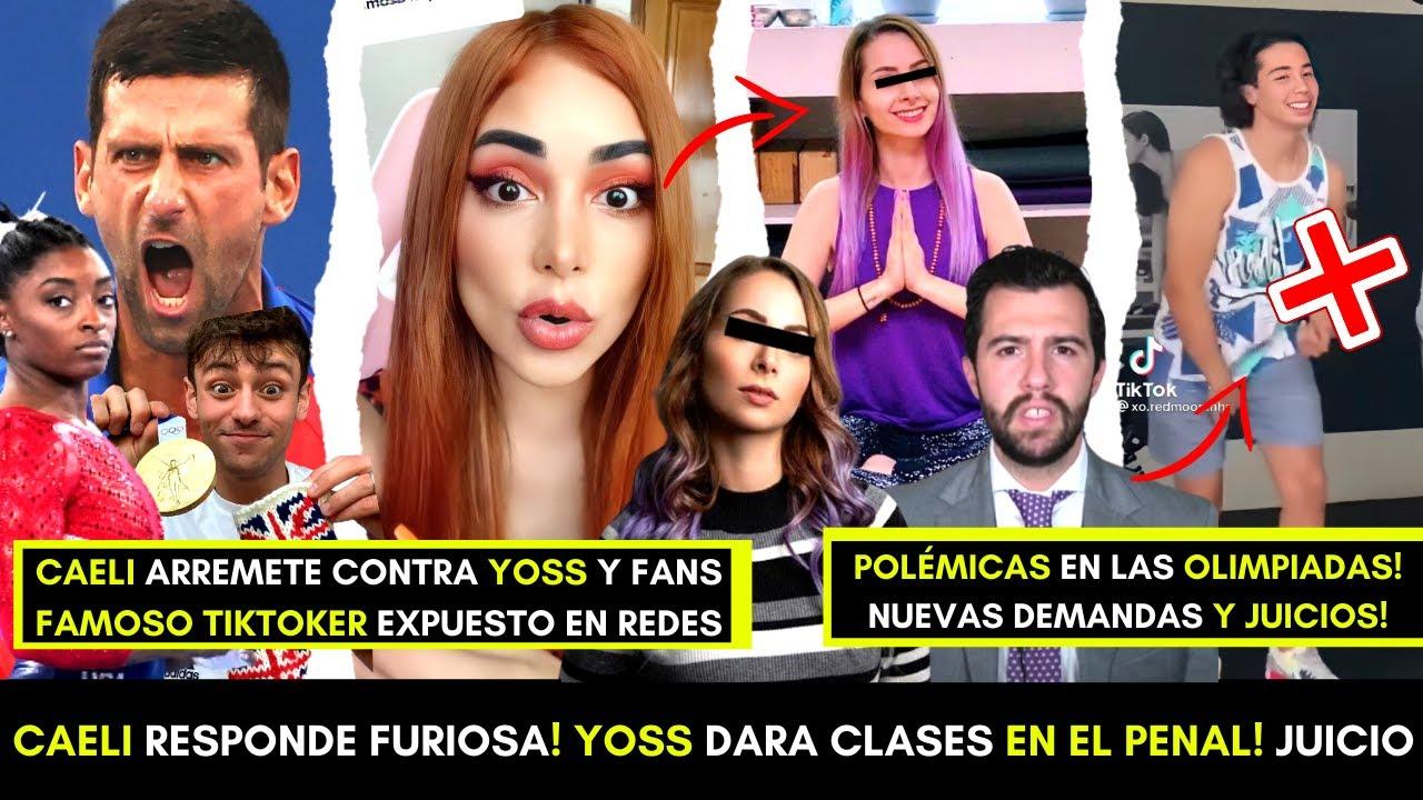 CAELI RESPONDE FURIOSA A YØSS! BUSCA SALIR POR BUENA CONDUCTA!? TIKTOKER EXPUESTO! JUICIO GANADO!?