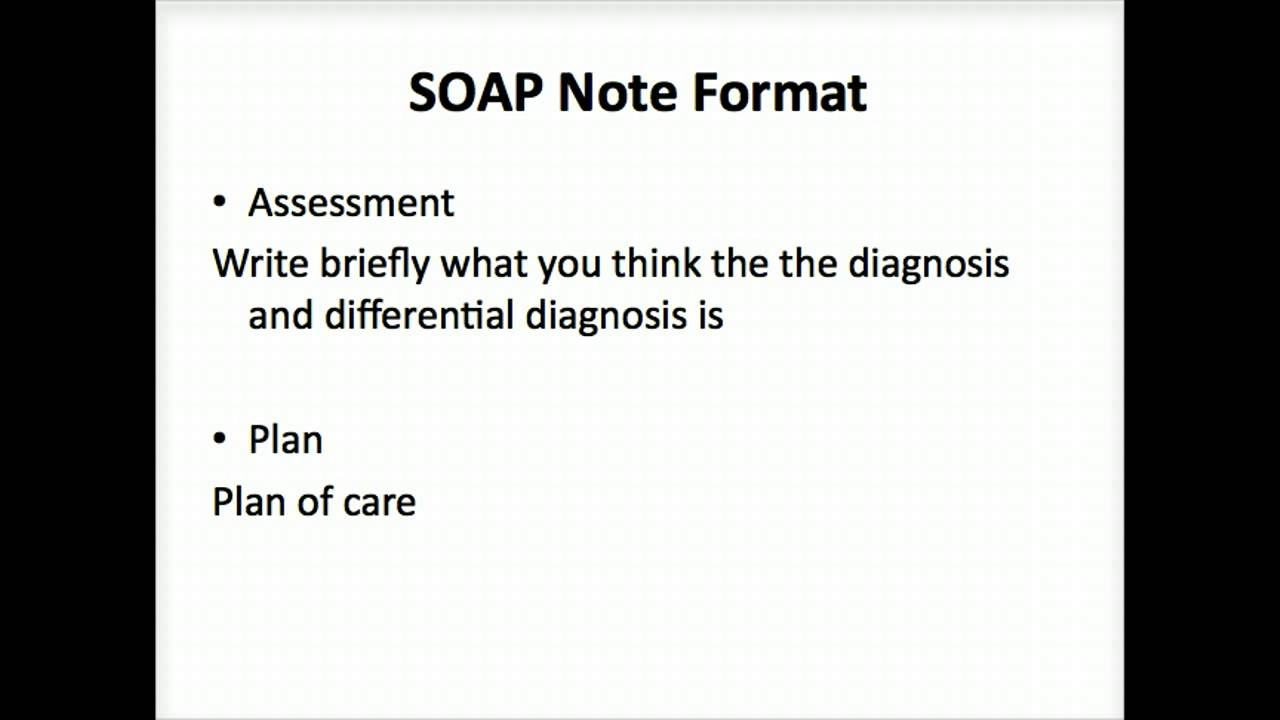 soap note The main purpose of having a soap note template & examples in any medical institution is to have a standardized format in organizing the medical information of the.