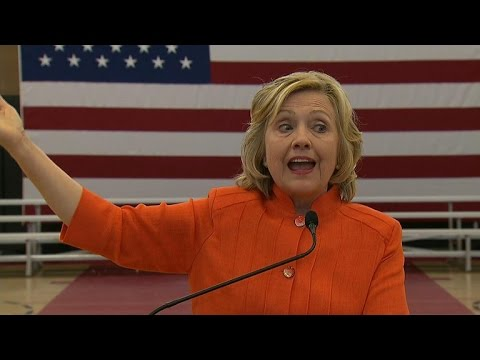 Hillary Clinton defends private email server