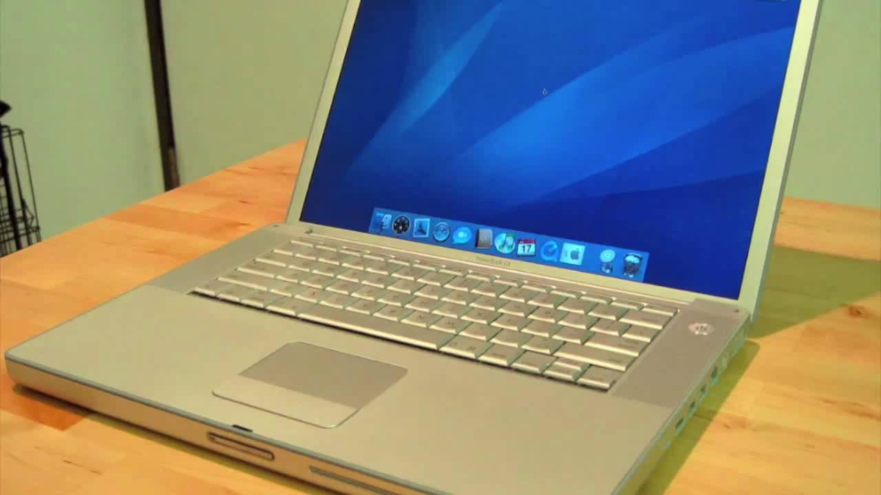 Beste Apple PowerBook G4 Review (HD) - YouTube PJ-54