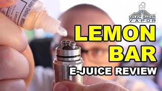 Mt. Baker Vapor E Juice Review: Lemon Bar