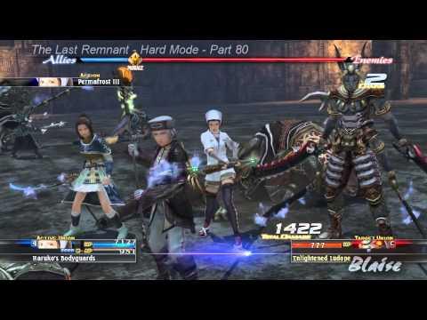 The Last Remnant - Hard Mode - Part 80 - The Enlightened Seven (Bonus Boss)