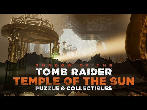 Shadow of the Tomb Raider • Temple of the Sun Tomb • The Hidden City • Mirror Puzzle