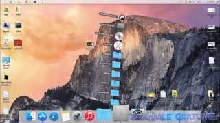 Installing MAC OS X Yosemite Theme on Windows 8.1 !