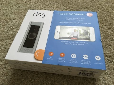 How To Install Ring Video Doorbell Pro Doovi